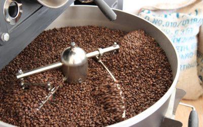 vers gebrande koffiebonen koffiemachine friesland